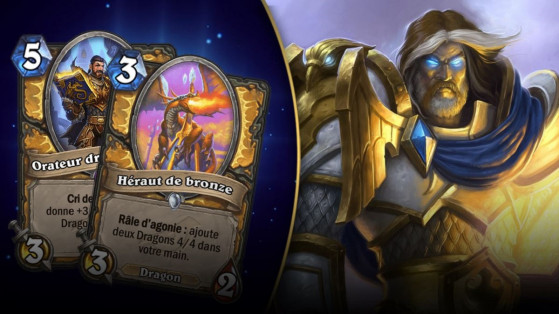 Hearthstone : deck Paladin Dragons L'Eveil des Ombres (Rise of Shadows)