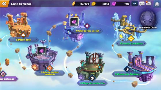 Icône du Temple du Chaos - Skylanders Ring of Heroes