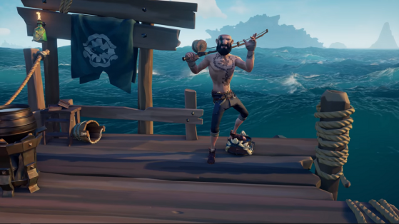Sea of Thieves : Appel du chasseur, pêche