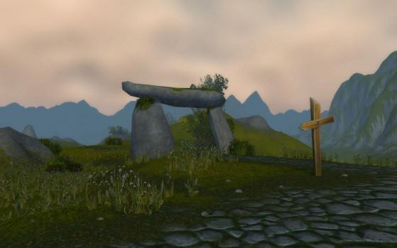 La présence de ce dolmen n'est absolument pas expliquée dans le jeu, si ce n'est que