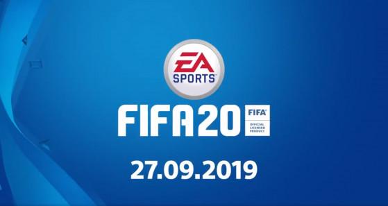 FIFA 20 : date de sortie