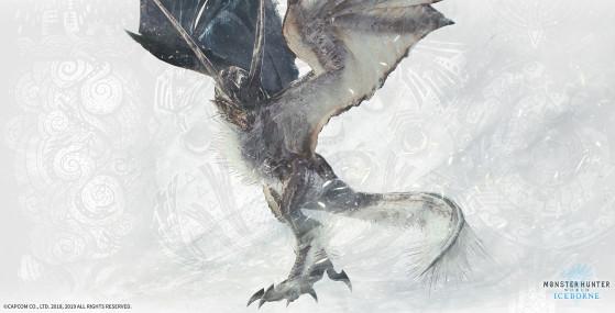 Legiana Blizzard - Monster Hunter World