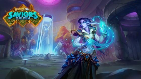 Hearthstone : Elise Cherchétoile, héros Druide alternatif Aventuriers Uldum