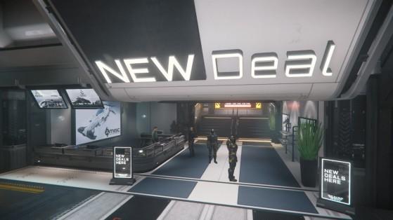 La Concess New Deal est le portrait principal de Teasa - Star Citizen