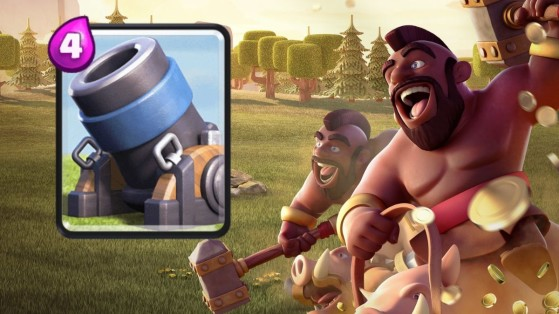 Clash Royale : deck Mortier Cochon cycle, Arène 9