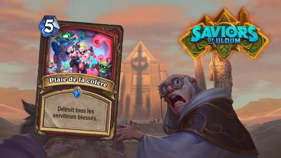 Hearthstone Aventuriers d'Uldum : Plaie de la colère (Plague of Wrath)