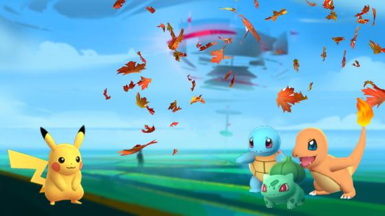 Pokemon GO : automne, forme spéciale, fall pokemon