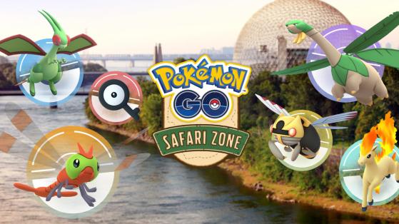 Pokemon GO Safari Zone : Canada, Montréal, détails