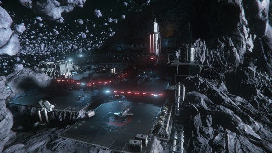Station de plain pied - Star Citizen
