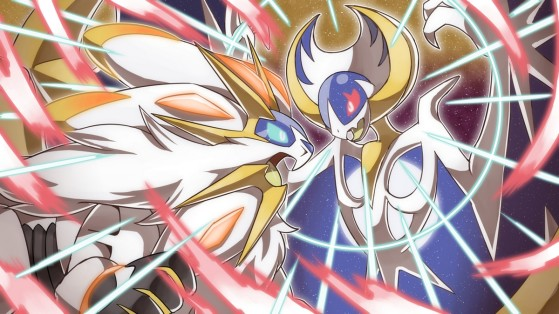 Pokémon Ultra-Lune, Ultra-Soleil, Soleil, Lune, Solgaleo et Lunala shiny