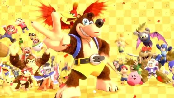 Super Smash Bros Ultimate : Banjo & Kazooie disponible tout de suite !