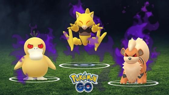 Pokemon GO, Nouveaux Pokemon Obscurs