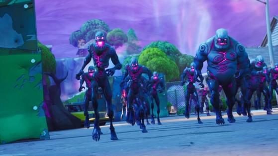 Fortnite : un glitch avec les zombies de Retail Row pour du bouclier infini