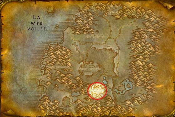 Localisation des Infernaux mineurs - WoW : Classic