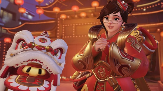 Overwatch : Nouvel An Lunaire, Tour de Lijiang carte d'événement