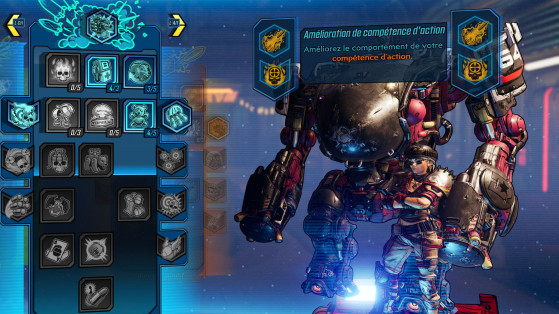 Borderlands 3 : Guide comment changer ses talents, reset skill points