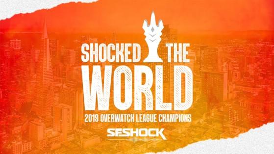 Overwatch League 2019 : San Francisco Shock, grand champion de l'OWL2019