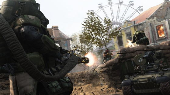Call of Duty Modern Warfare : mode multijoueur Recherche et destruction