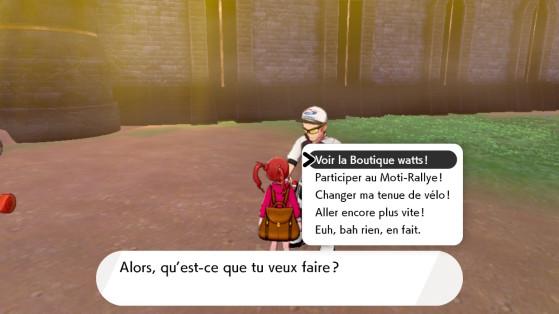 L'un des PNJs Macro Cosmos - Pokémon Épée et Bouclier