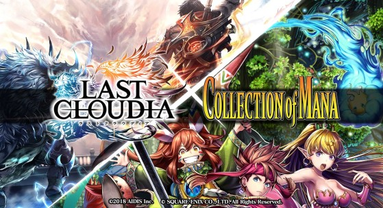 Last Cloudia, Collaboration Square Enix, Collection of Mana