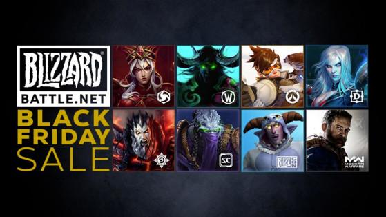 Blizzard : Promotions du Black Friday 2019