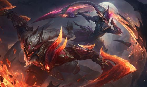 LoL - Saison 10 : Nouveau skins Tueur de dragons pour Diana, Olaf et Trundle