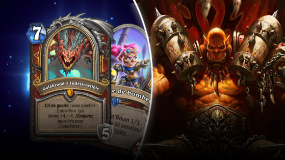 Hearthstone Deck Guerrier Galakrond