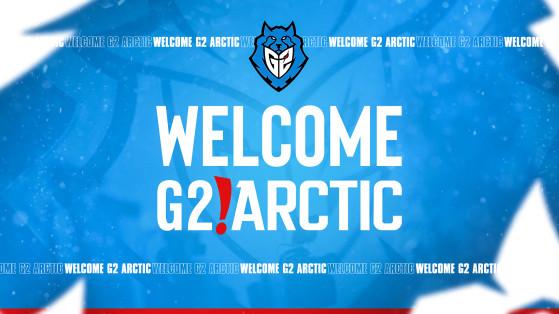 LoL : Découvrez G2 Arctic,  la nouvelle équipe académique de G2 Esports