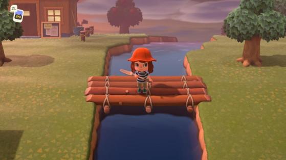 Animal Crossing New Horizons : construire des ponts pour traverser les rivières
