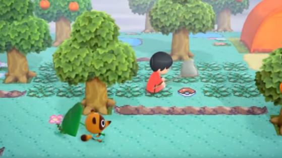 Animal Crossing New Horizons : une île rétro à la sauce Pokémon