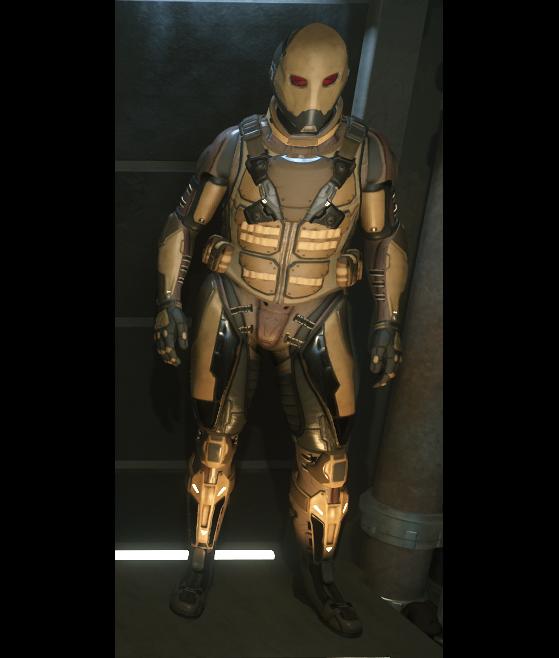 Calico - Modèle d'armure légère - Star Citizen