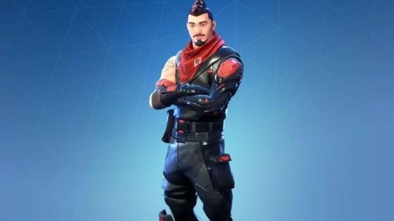 Fortnite : skin le plus rare du jeu, l'Agent nocturne prend la tête du classement