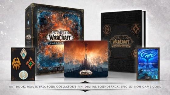WoW Shadowlands : Collector Epic Edition et son contenu
