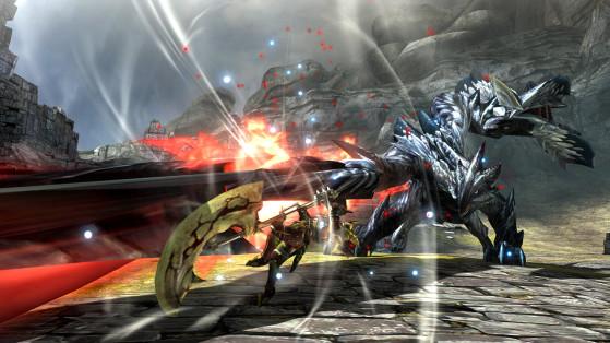 Il fallait compter de très nombreuses heures de jeu avant de croiser le Valstrax et son excellente musique. - Monster Hunter World