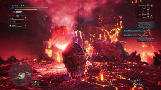 Les joies des météores brisés ou dans des tornades. - Monster Hunter World