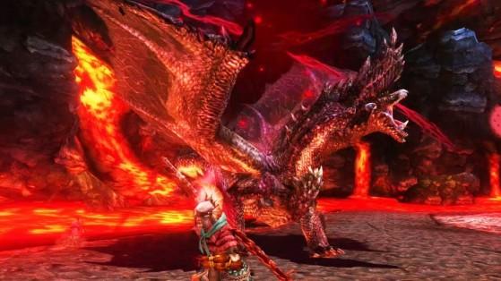 L'Alatreon des vieux jeux fait pale figure à côté du nouveau. - Monster Hunter World