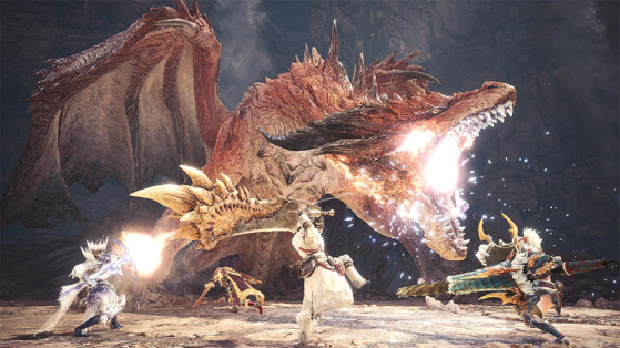 Safi'jiiva, un combat équilibré en multijoueur. - Monster Hunter World