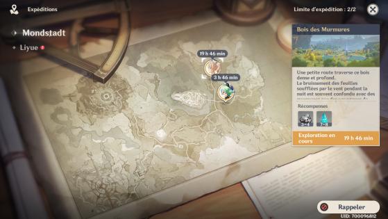 Les expéditions, c'est plutôt cool, non ? - Genshin Impact
