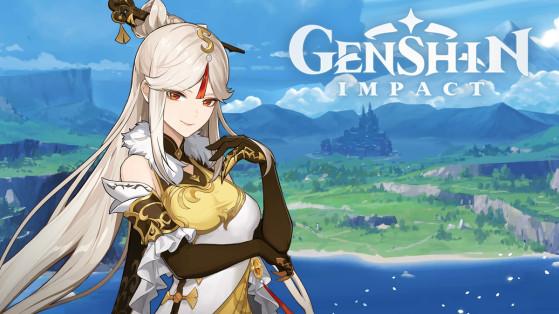 Genshin Impact : build Ningguang, armes et sets d'artefacts