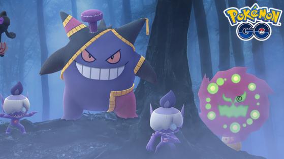 L'événement d'Halloween 2020 a commencé sur Pokémon GO