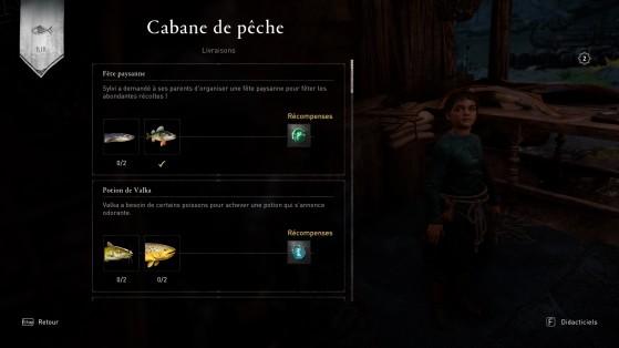 Exemple de récompense - Assassin's Creed Valhalla