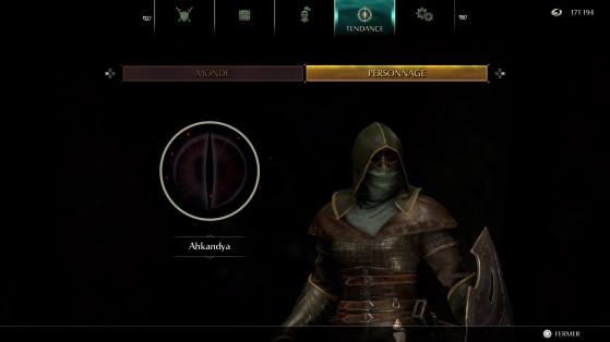 Personnage de tendance noire pure - Demon's Souls