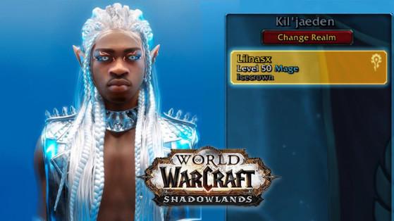 WoW : Le rappeur US Lil Nas X serait un joueur de Shadowlands !