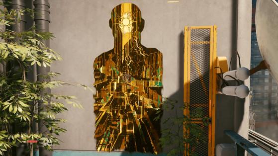 Soluce Cyberpunk 2077 : Position des cartes de tarot
