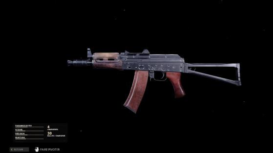 Quelle est la meilleure classe pour l'AK74-u sur Black Ops Cold War ?