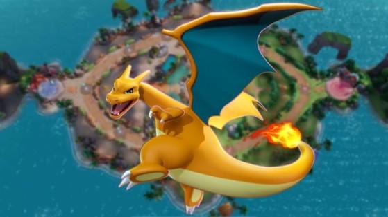 Dracaufeu (Charizard) Pokémon Unite : build, attaques, objets et comment le jouer