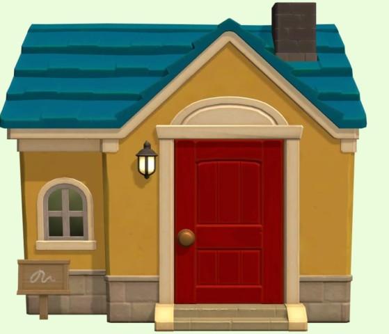 La maison de Robert - Animal Crossing New Horizons