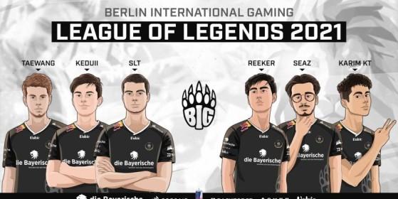 BIG c'est l'autre gros poisson de la compétition. - League of Legends