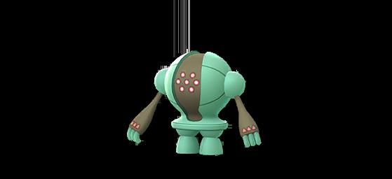 Registeel shiny - Pokemon GO