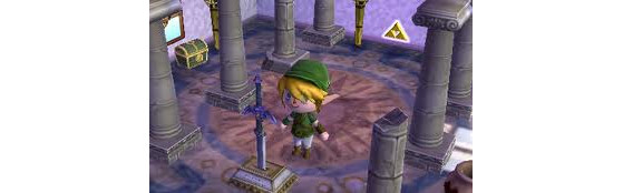 Les meubles Zelda sur Animal Crossing New Leaf (3DS) - Source : Eklablog - Millenium